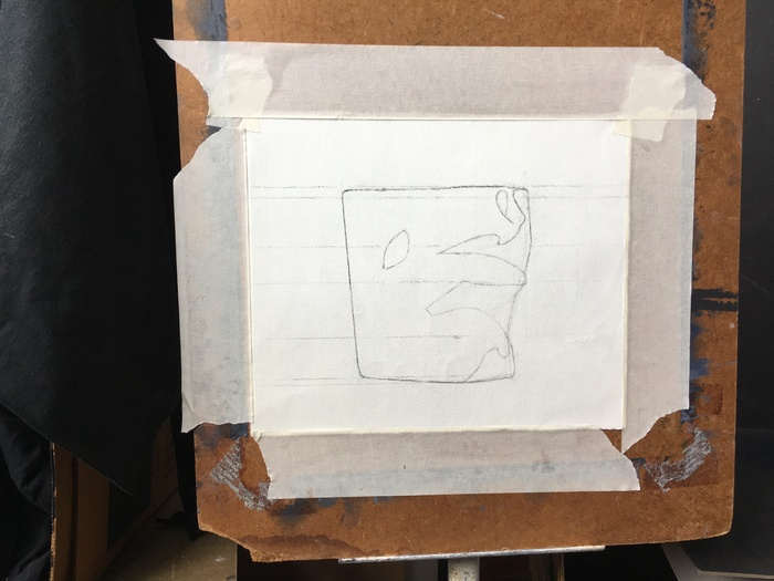 Cast Drawing 2