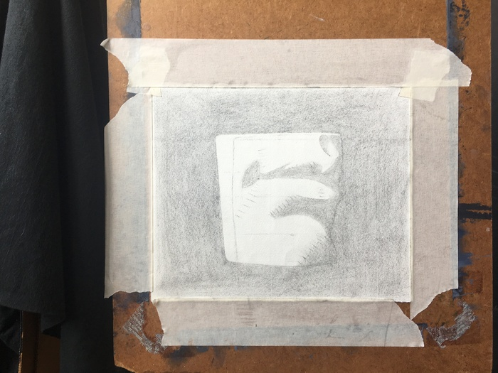 Cast Drawing 3