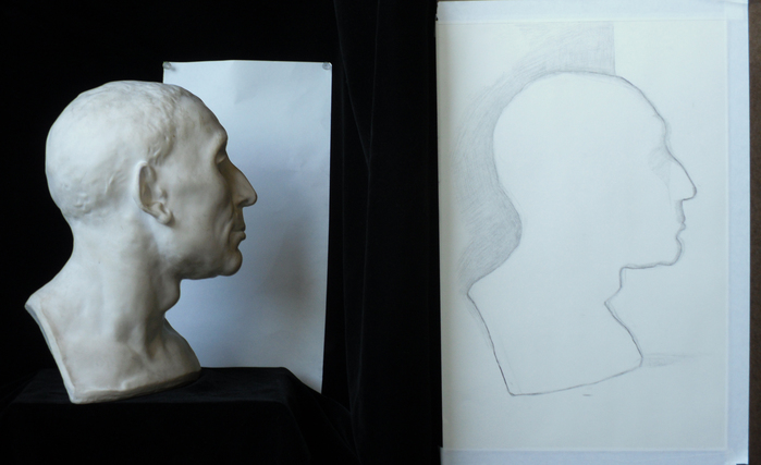 Cast Drawing Silhouette