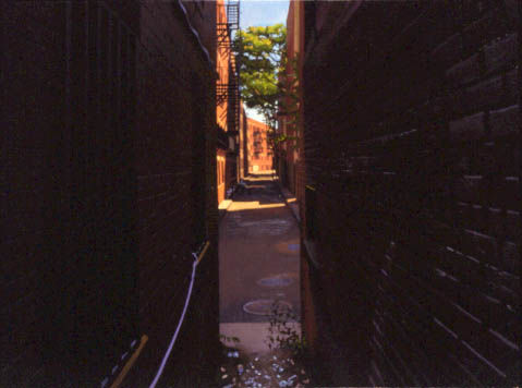 Down an Alley