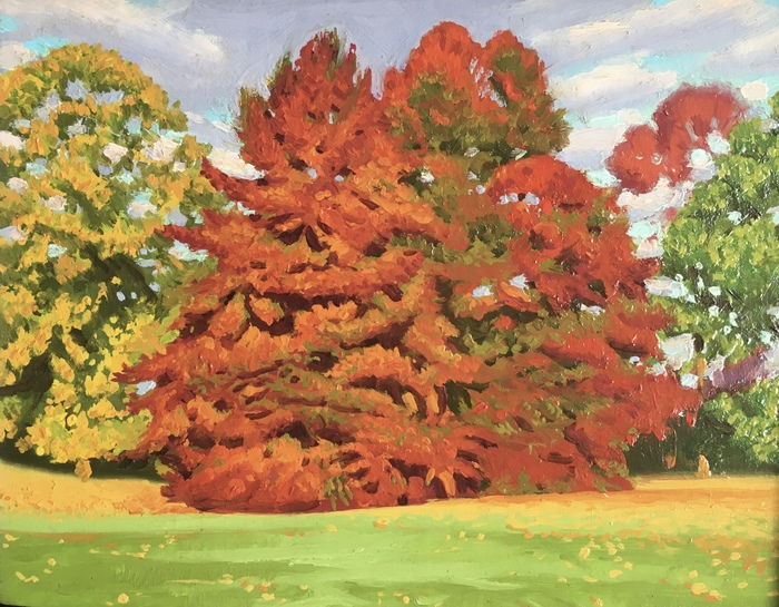 2 Red Trees