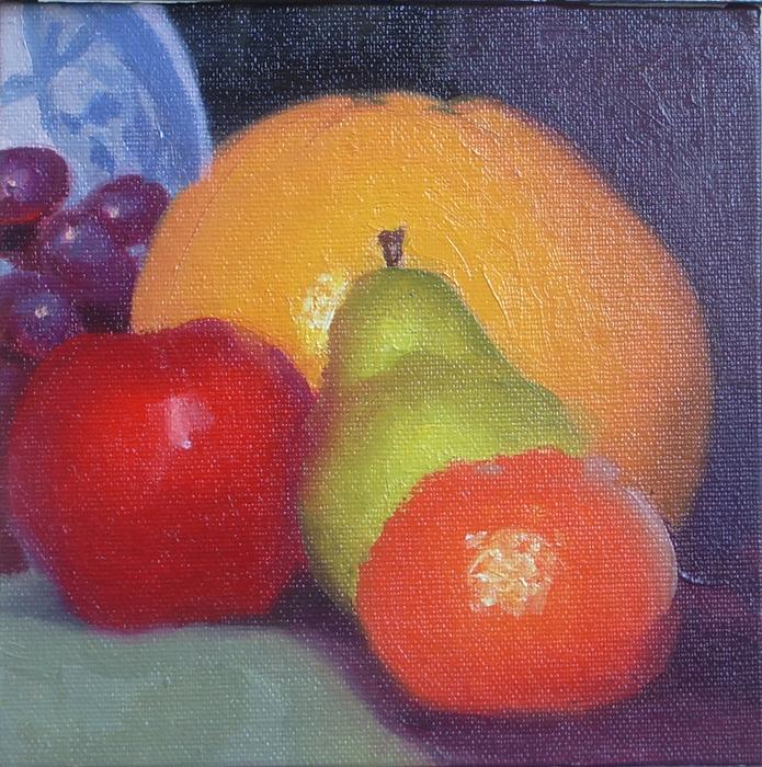 Grapefruit Still Life II
