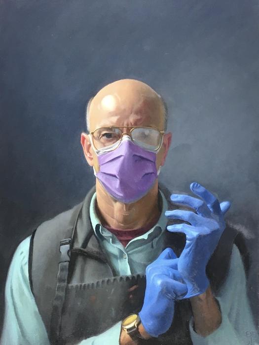 Quarantine Self-Portrait