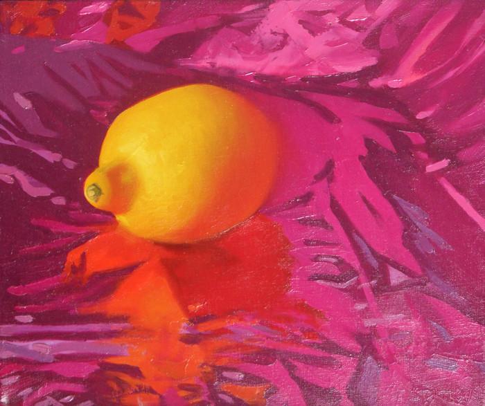 Lemon. Magenta