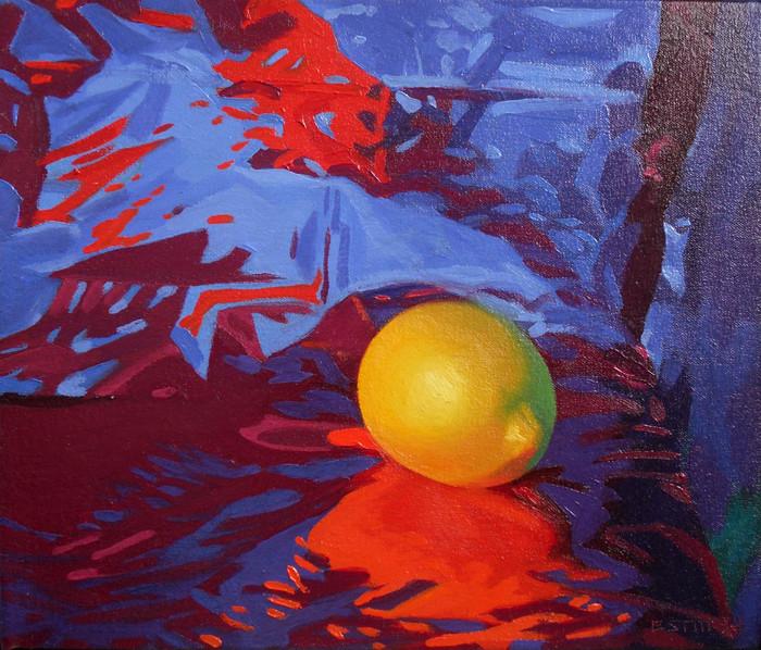 Lemon, Blue/Red